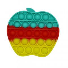 Fidget Toy Anti Stress apple Multicolour Push Pop It