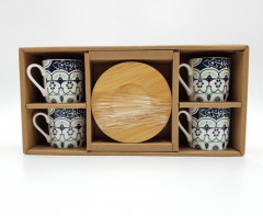 Coffee Cup Set, 4 pieces