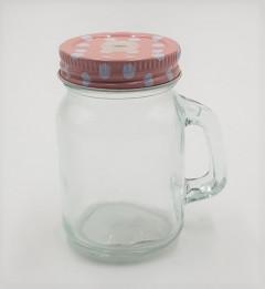 Glass Drinking Jar