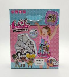 12 Pcs Pack LOL Surprise - Color - Filling