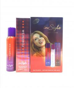 FEMINISM Set eau de Parfum With Perfumed Deodorant Body Spray