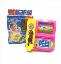 Cartoon Telephone Music Toy Kids Battery Operated