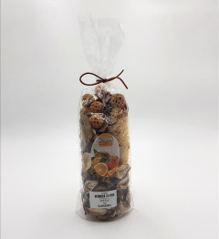 Aromatique Cinnamon Scent Potpourri Bag Perfume Sachet of Dried Flower Petals, For Bowl & Vase Decorative Filler Home & Spa Fragrance