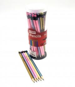 60 Pcs HB Black Pencils