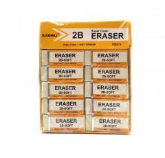 20 Pcs Pack Super Clean and Soft Eraser