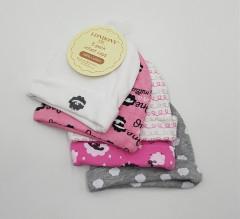 5 Pcs Baby Cotton Hat Set