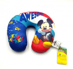 Mickey Plush Travel Neck pillow