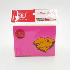 Sticky Note Pad Mix Colour 100 sheets in a pad