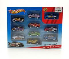 10 Pcs Metal car toys