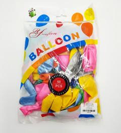 50 Pcs colorful Balloons