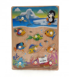 Wooden Marine Puzzle Tooky Toy