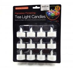 12 Pcs Pack Tea Light Candles