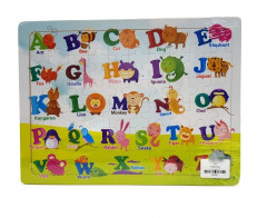 Puzzle For Kids Education Game Combine ABC Pictures
