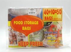 50 Pcs Food Storage Bags