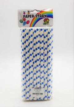25 Pcs Paper Straw Pack