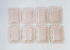 8 Pcs Disposable Plastic Plates Pack