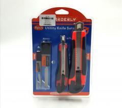 4 Pcs Utility Knife Set