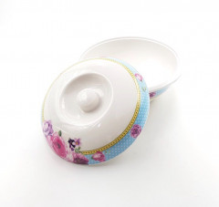 Bowl with Cover-Melamine