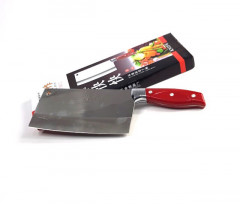 Chinese kitchen knife knife durable chef slicing chopping knife sharp blade wood color knife