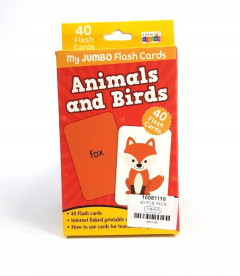 40 Pcs Pack Animals and Birds