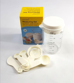 Measuring Cup - Set of Spoons, Leveler ,Pourer and Egg separator