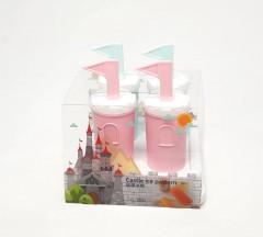 4Pcs Set Castle Ice Cream
