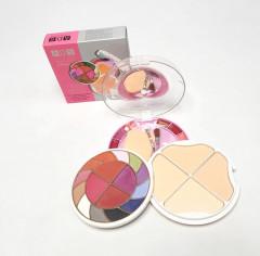 Color Series Makeup Kit whit 12 Eyeshadow , 4 Blusher ,4 Powder Cake ,  6 lip Colour