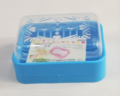 Transparent Printed Plastic Soap Dishes, Size: 5 Inch