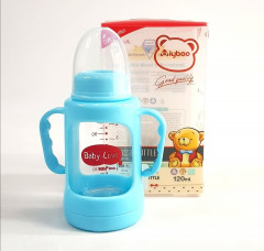 Baby Love Glass Feeder With Cover