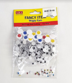 Fancy Item Wiggly Eyes For Cards and Crafting For Kids