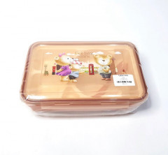 Multi Compartment Lunch Box Toper With Spoon