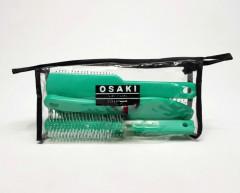 OSAKI 4 Pcs Hair Brush Pack
