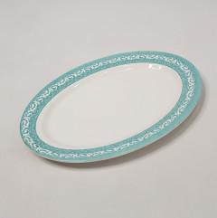 Oval Shape Melamine Plate