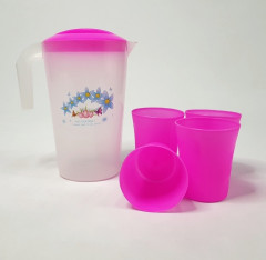 WATER JUG WITH 4 PCS GLASS