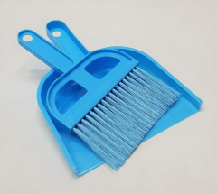 Broom and dust pan Set, Dust Brush and Dust pan Small Set, Hand Brush, Hand Broom, Broom and Dustpan Small Set (Random Color)