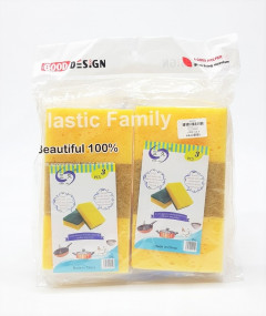 Cheap Price Scouring Pads for kitchen Cleaning Sponge