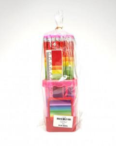 50Pcs of pencil set with Ruler Scissor Eraser for Kids School Pack