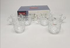 6 Pcs Glass Tea Cup