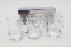 KARBON 6 PCS CRYSTAL GLASSWARE