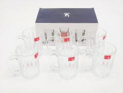 6 PCS CRYSTAL GLASSWARE