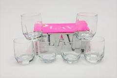 6 Pcs Whiskey Glasses Set