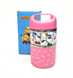 Hello Kitty Stainless Steel 2 Layer Lunch Box