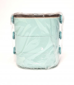 3 Layer Tier Stainless Steel Lunch Box