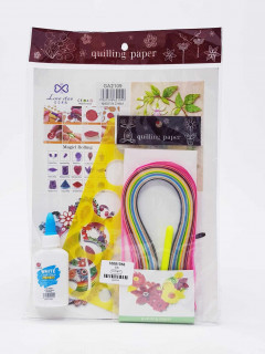 Quilling Paper Art Packages With Glue