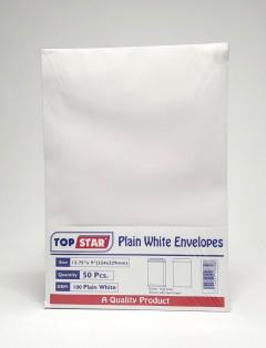 TOP STAR Plain White Envelopes