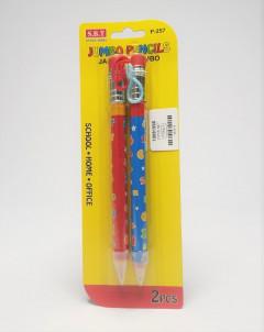 2Pcs Jumbo Pencils