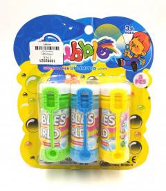 3 Pcs Bubble Soap Set