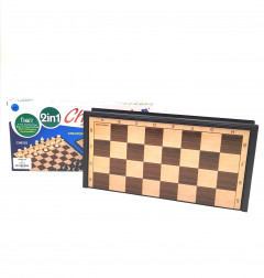 2 in1 Play Game backgammon And Chess