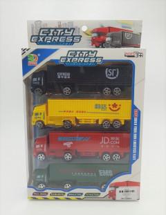 City Express 3 Pcs Transport Vehicle Series Set