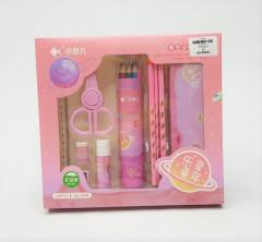 24 Pcs  Pencil Ruler Eraser Sharpener  Stationery Set For Boy Girls Kids Gift School